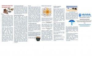 TDS Meter ( Konduktivitas) Pengukuran pada air.