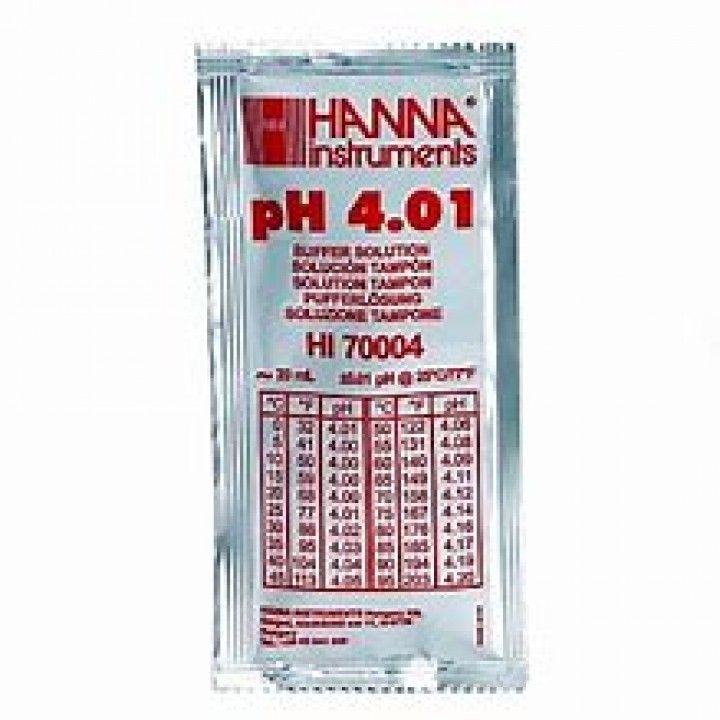 HI70004P - 4.01 pH@25°C - SQ - 25x20ml