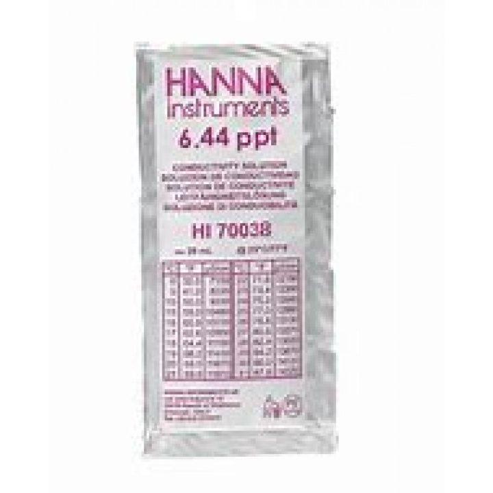 HI70038P - 6.44 g/l (ppt) TDS@25°C - 25x20ml