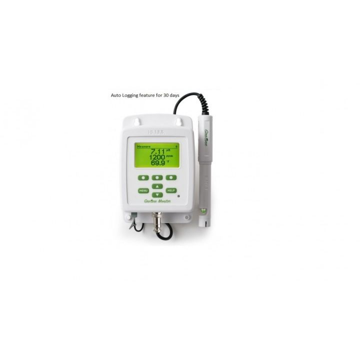 HI981420 GroLine Hydroponic Nutrients Monitor for pH, EC, TDS, and Temperature