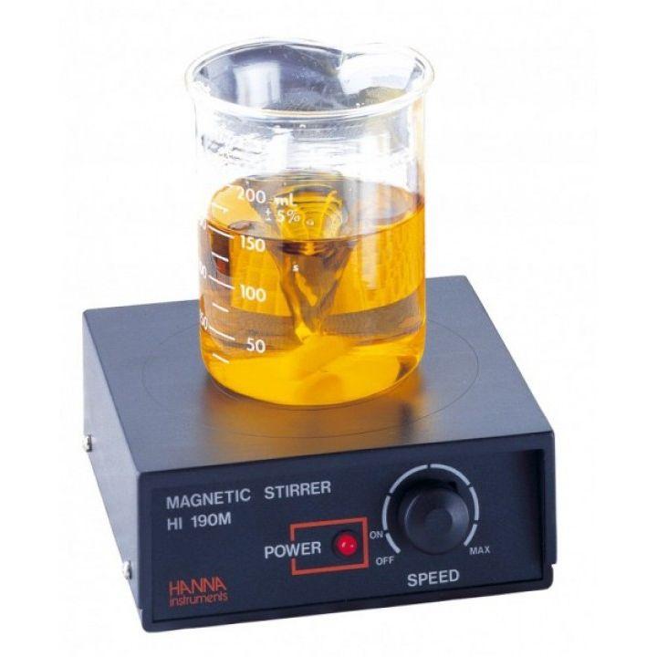 HI190M 1L Magnetic Mini-Stirrer with ABS cover, 230V
