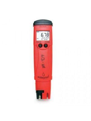 HI98128 pH/°C-Tester (0.01 pH resolution) - waterproof