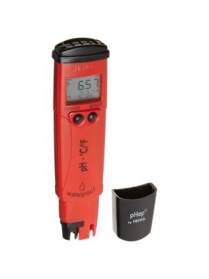 HI98128 pH/°C-Tester (0.01 pH resolution) - waterproof