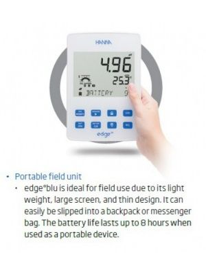 HI2202 - pH Meter and HALO™ pH Probe with Bluetooth® Smart Technology - No Cable