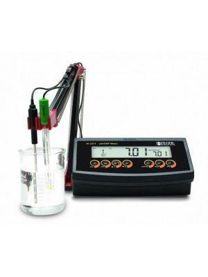 HI2211 Basic pH / ORP / °C Meter / 2-Point Calibration