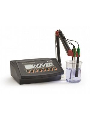 HI2216 pH / ORP / ISE / °C Meter / 5-Point Calibration; Resolution 0.001 + PC Interface