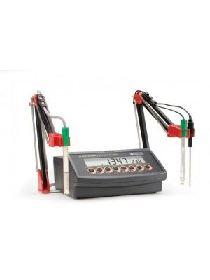 HI2550 pH/mV/EC/TDS/NaCl/°C Meter - 2 Channel