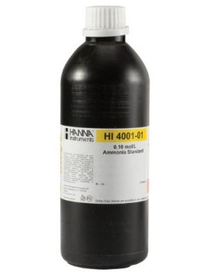 HI4001-01 ISE 0.1M Ammonia Std , 500 ml Bottle