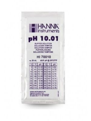 HI70010C - 10.01 pH@25°C - SQ Cert. - 25x20ml