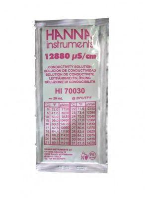 HI70030P - EC 12880 µS/cm@25°C - 25x20ml
