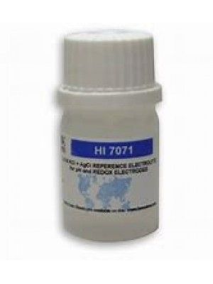 HI7071 Electrolyte Solution 3.5 M KCl + AgCl, 4 x 30 ml