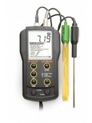 HI83141 pH/mV/°C Meter- BNC type - custom calibration point