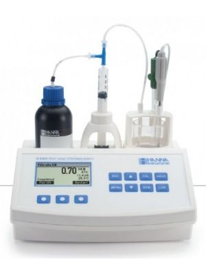 HI84532 Titratable Acidity Mini Titrator for Fruit Juice Analysis