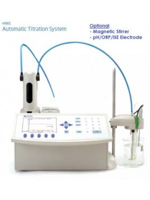 HI901 - Low Cost Titration System - Potentiometric (pH/mV/ORP) Monochrome Display