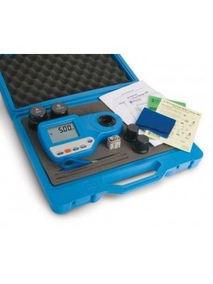 HI96724C* Chlorine Free & Total 0.00 to 5.00 mg/l - Photometer with Cal kits & Casing