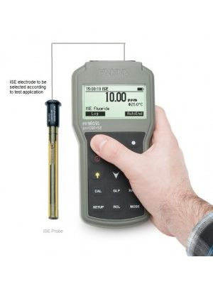 HI98191 Portable ISE Meter with ISE electrode (Configurable)