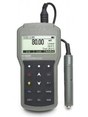 HI98192 Waterproof Portable EC/TDS/Resistivity/Salinity Meter