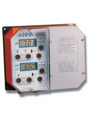 HI9912-2 Industrial Grade pH & ORP Controller (Direct 230V outputs)
