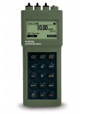 HI98185 pH / ORP / ISE / °C Meter + PC Interface, Waterproof