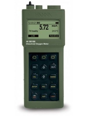 H98186 Dissolved Oxygen & BOD Meter / °C - Meter, polarographic DO probe