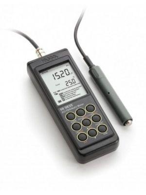 HI9835 EC / TDS / NaCl / °C-Meter, Auto-Endpoint, ATC