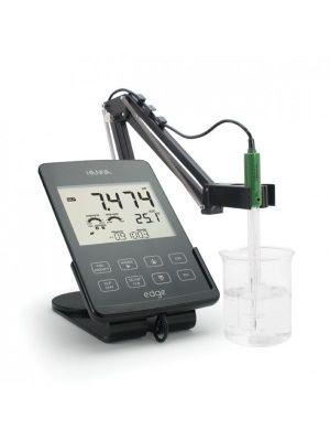 HI2020F edge™ Fullpack - pH/DO/EC/TDS/NaCl/°C Meter including 3 Electrodes