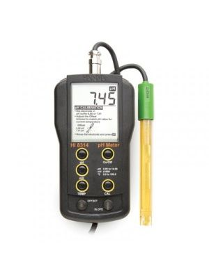 HI8314 pH/mV/°C Meter- DIN type - custom calibration