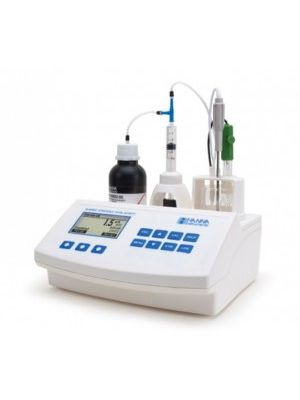 HI84502 Mini-Titrator for Total Acidity + pH/mV/°C Meter