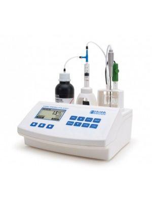 HI84502 Mini-Titrator for Total Acidity + pH/mV/°C Meter