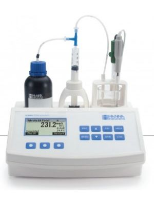 HI84531 Total Alkalinity Mini Titrator for Water Analysis