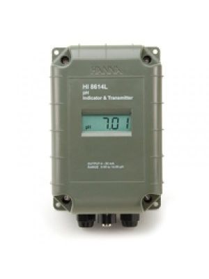 HI8614LN pH - Transmitter with LCD, 4 to 20 mA Ouput
