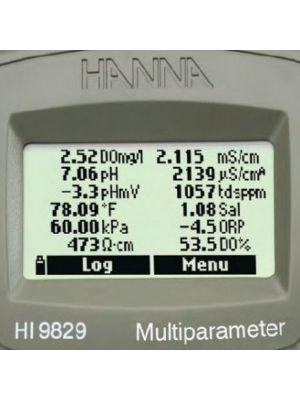 HI9829 Multiparameter Meter (Configurable)