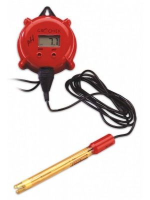 HI981401N pH-Indicator with LED-Alarm & Electrode GRO'CHEK