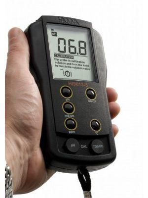 HI9813-5 Multiparameter pH/EC/TDS/°C - EC to 4 mS/cm (Obsolete)