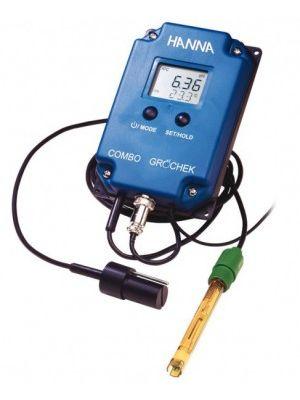 HI991404 pH/EC/TDS/°C-Monitor with Electrode, ATC - GRO'CHEK COMBO