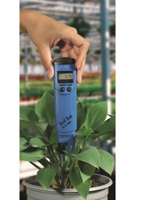HI98331 Soil Test™ EC/C°-Tester, waterproof, with Batteries (0-3999 uS/cm)